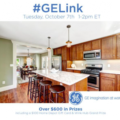 RSVP for the #GELink Twitter Party 10/07 1-2pm ET