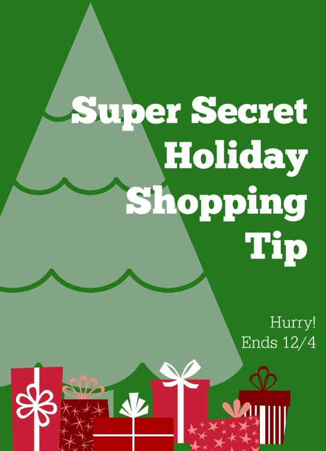 holiday shopping tip