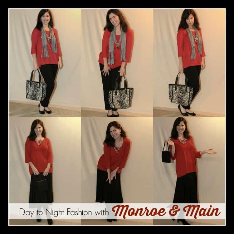 Day to Night Fashion with Monroe & Main