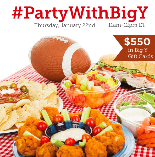 RSVP for the #PartyWithBigY Twitter Party