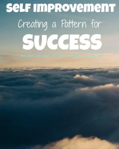 self improvement pattern for success
