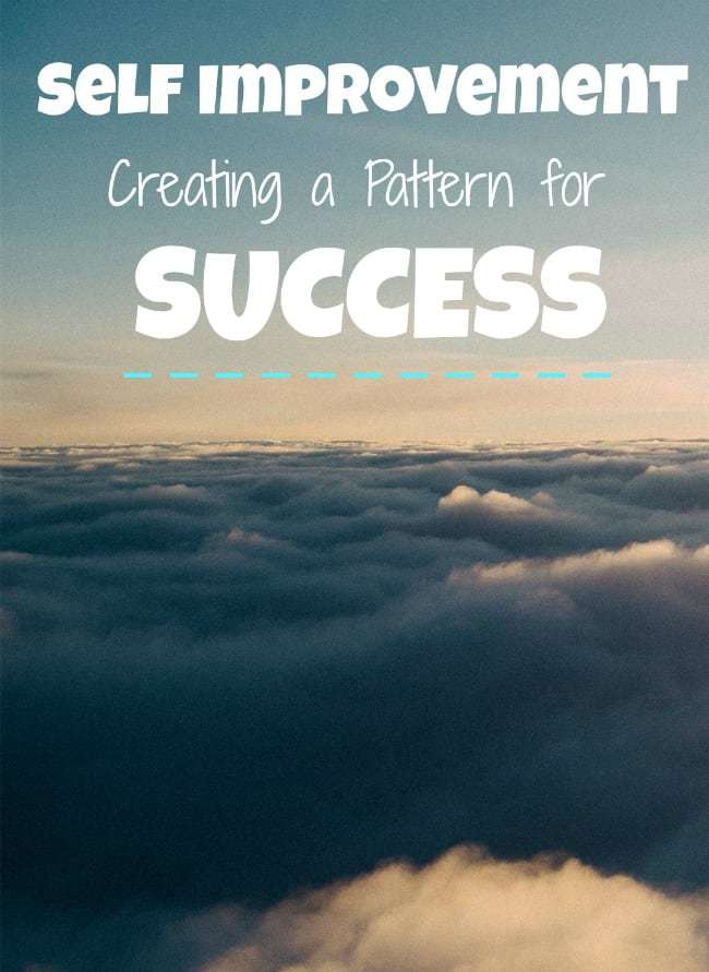 self improvement pattern for success