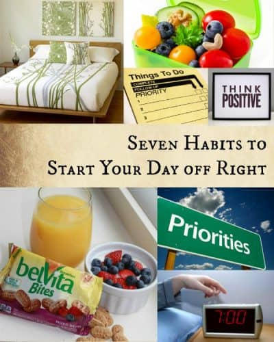 Seven Habits to Start Your Day