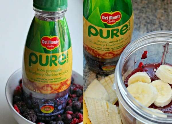 tropical smoothie recipe with Pure Earth Juice