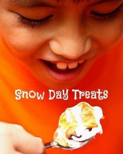 snow day treats