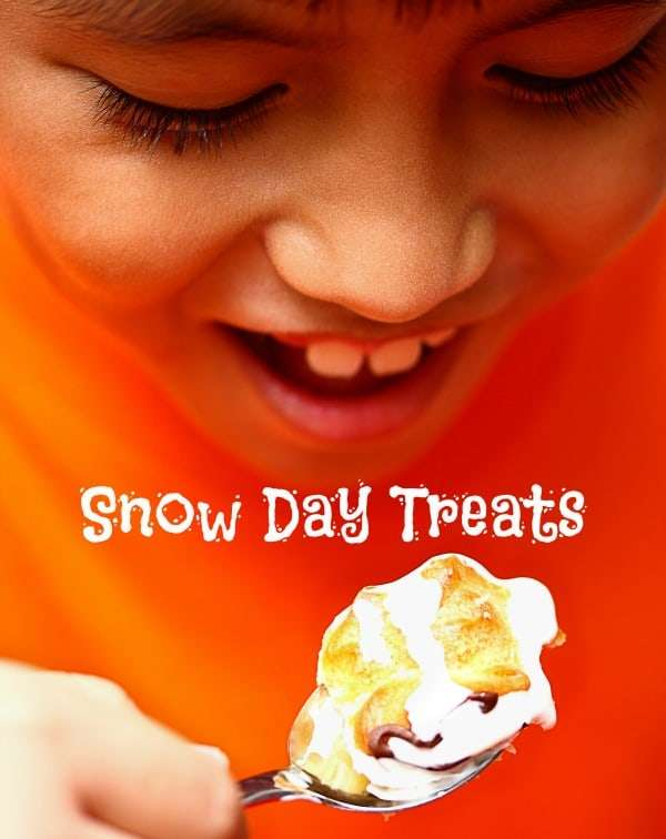 snow day treats