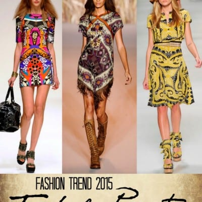 Get Inspired: Tribal Prints Trending This Season