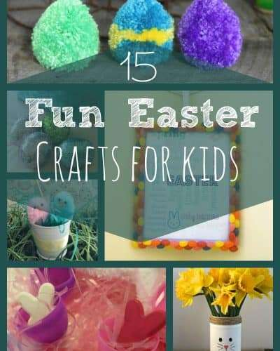 15 fun easter crafts for kids