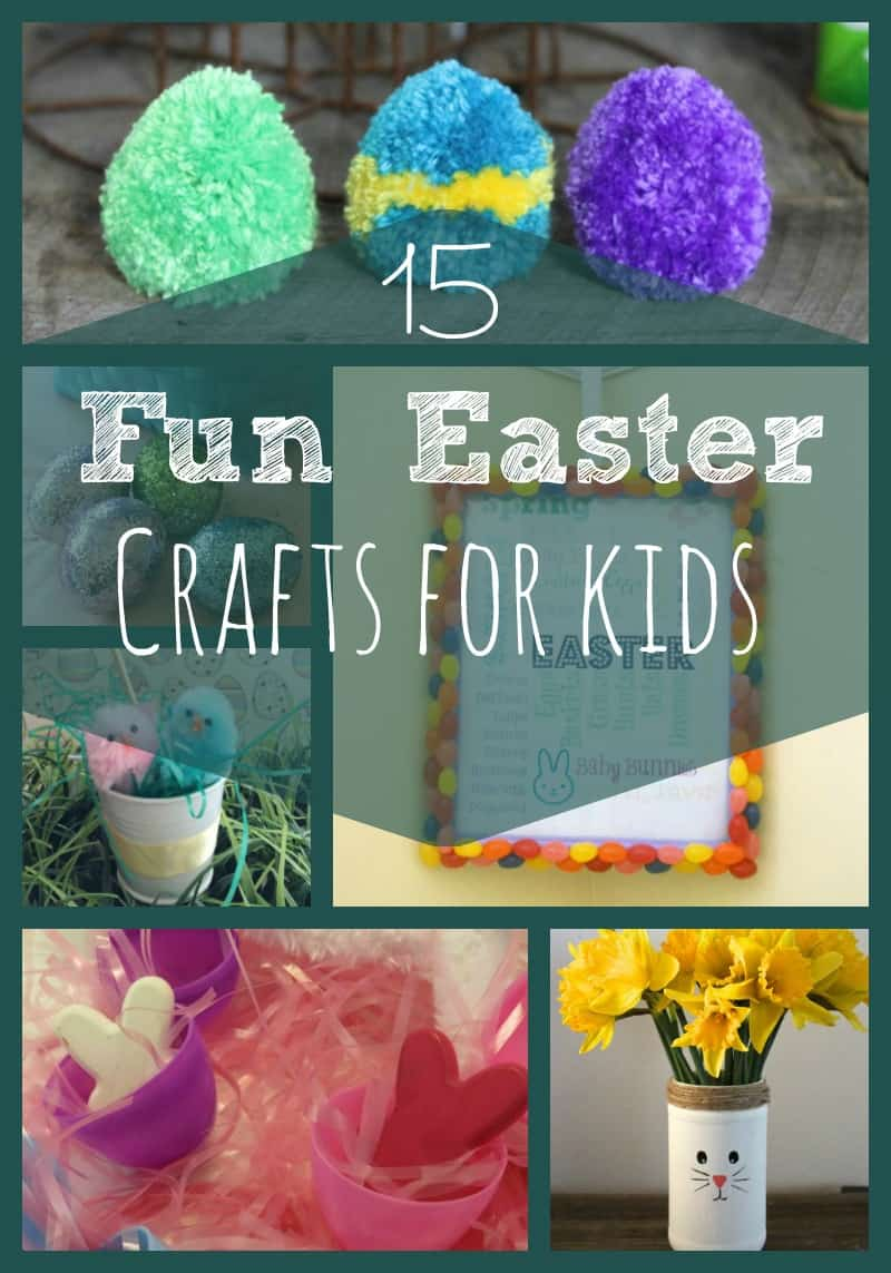 15 Fun And Easy Sewing Projects For Kids: 15 Fun Easter Crafts For Kids