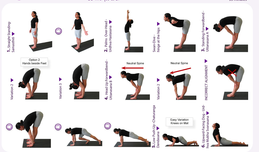 Nerdy image within printable yoga routine