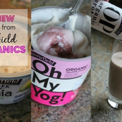 Great New Products from Stonyfrield Organics