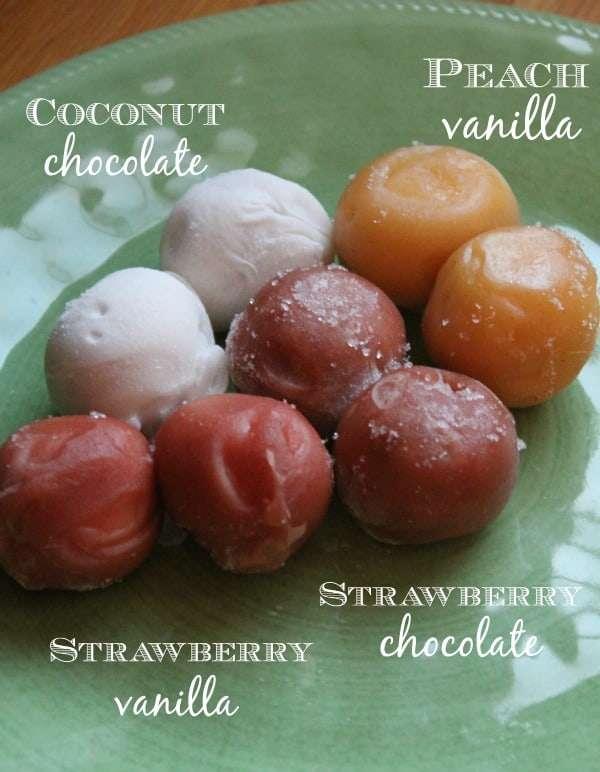 Healthy Treats - Frozen Yogurt Pearls from Stonyfield