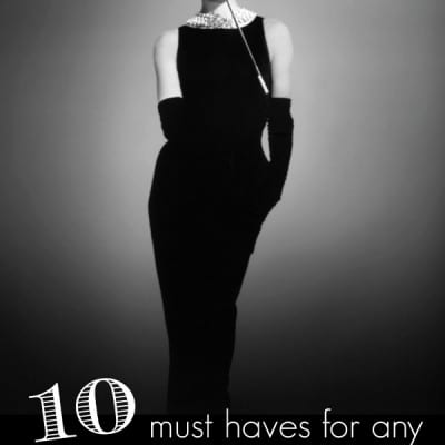 10 must haves for any fashion challenged woman