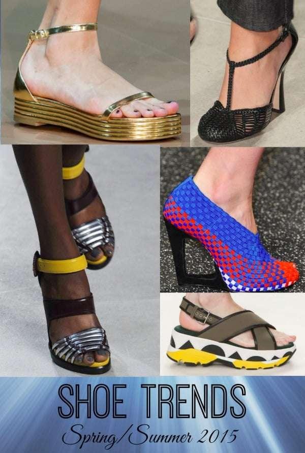 Shoe Trends for Spring/Summer 2105