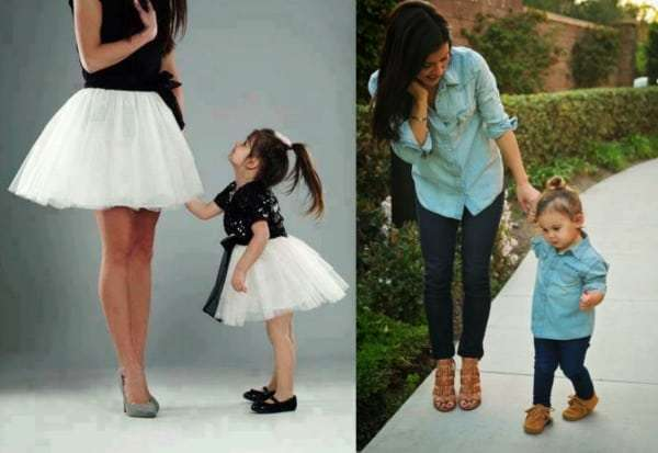 Too Cute! Mother and Daughter Matching Outfits - Comeback ...