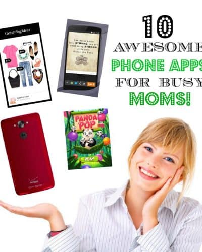 10 awesome phone apps for busy moms