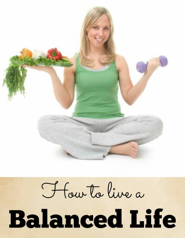 tips on how to live a balanced life