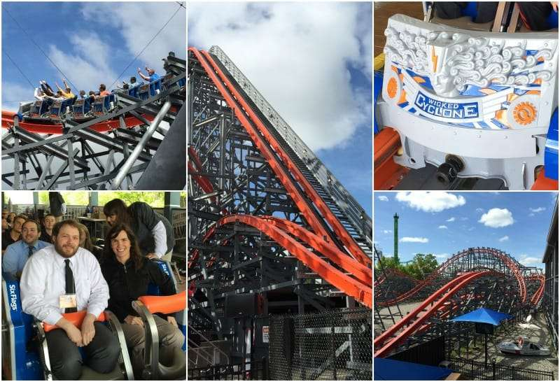 Six Flags New England Kicks Off a New Season with the Wicked Cyclone Hybrid Rollercoaster