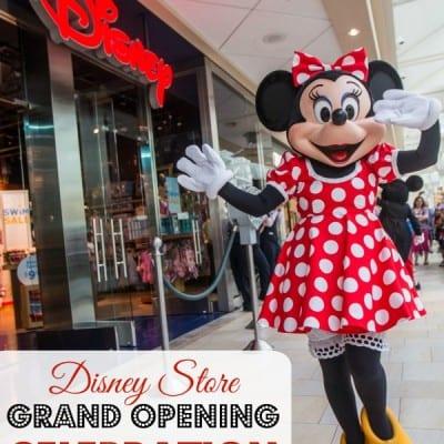 Disney Store Grand Opening Celebration