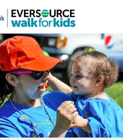 Spend the Day with the Family at The Eversource Walk for Boston Children's Hospital