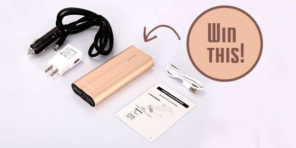 Father's Day Giveaway - Power Bank
