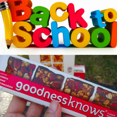 Back to School Planning with goodnessknows Snack Squares