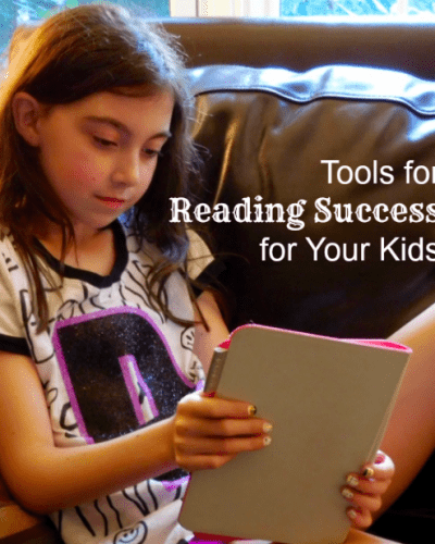Tools for Reading Success for Your Kids