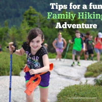 tips for a fun family hike
