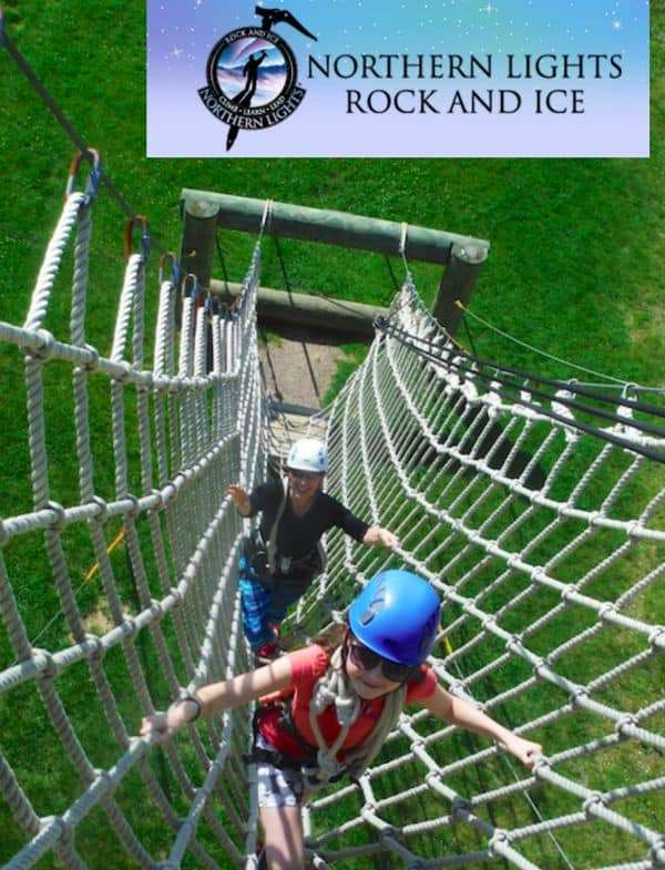 Ropes Course & More at Northern Lights Rock and Ice