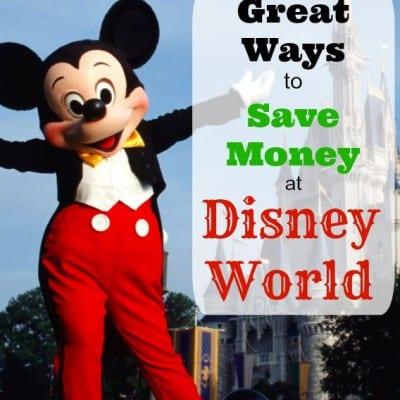 great ways to save money at disney world
