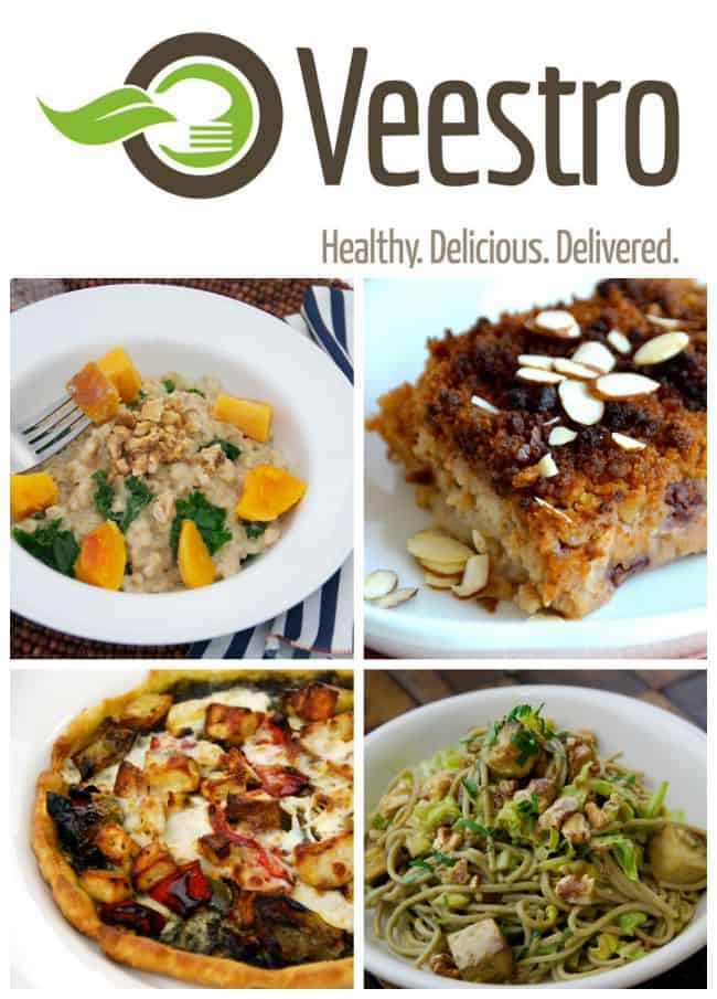 vegan meals deliver service from Veestro