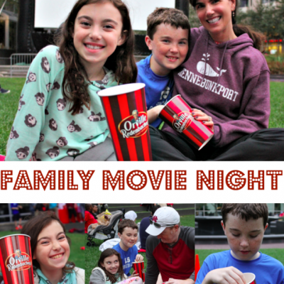 Family Movie Night with Orville Redenbacher's Popcorn