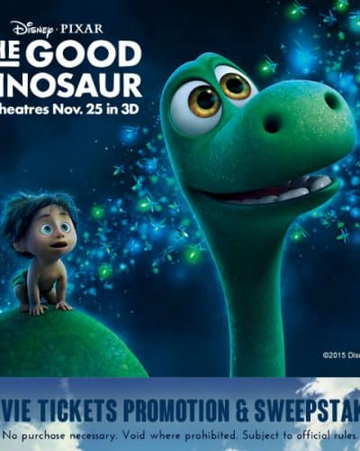 Win a trip to Good Dinosaur Premiere