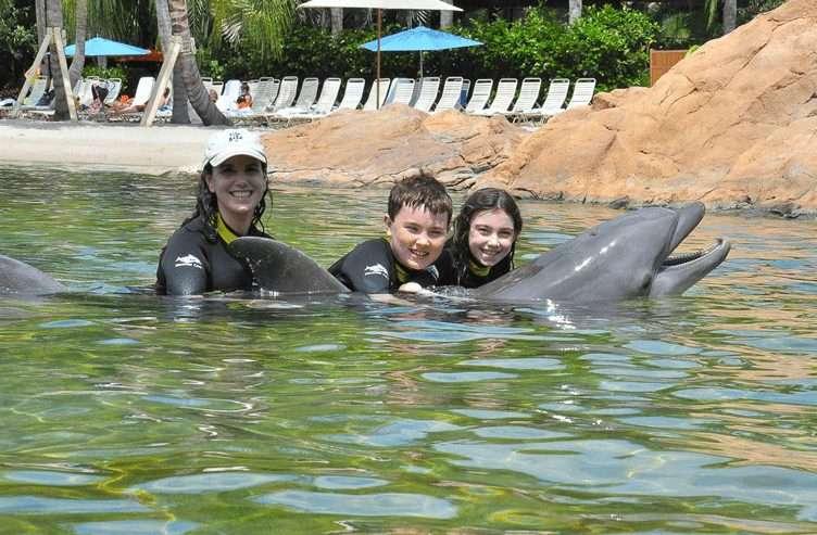 Family Travel Review: Discovery Cove, Orlando