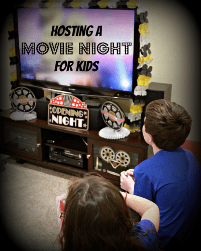Ideas for Hosting a Great Movie Night for Kids