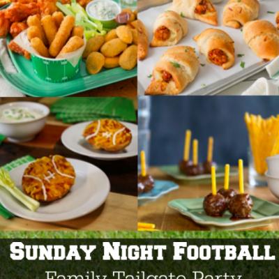 Sunday Night Football Family Tailgate Party