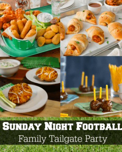 Sunday Night Football Family Tailgate Party