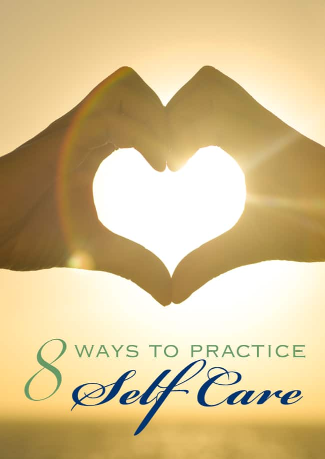 8 tips to practice self care