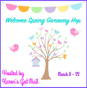 Welcome Spring Giveaway Hop – $50 Amazon Gift Card