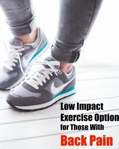 low impact exercise options for those with back pain