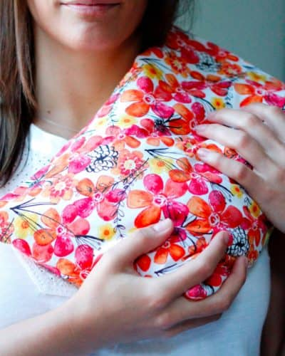 Relieve Muscle Pain with Corn Bags from ForeverOhSoCrafty!