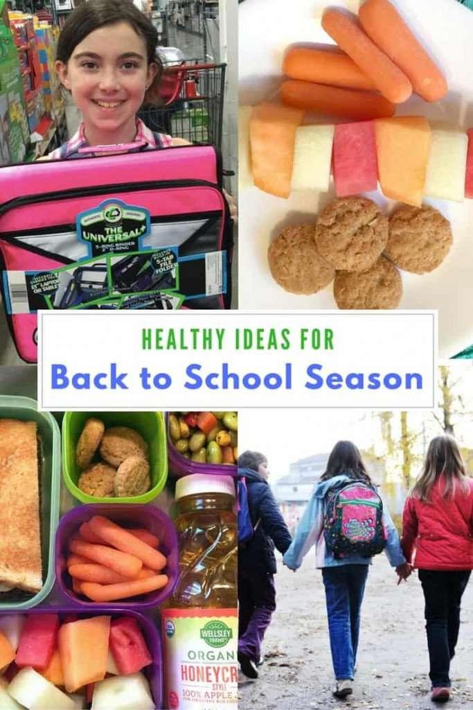 Healthy Ideas for Back to School Season