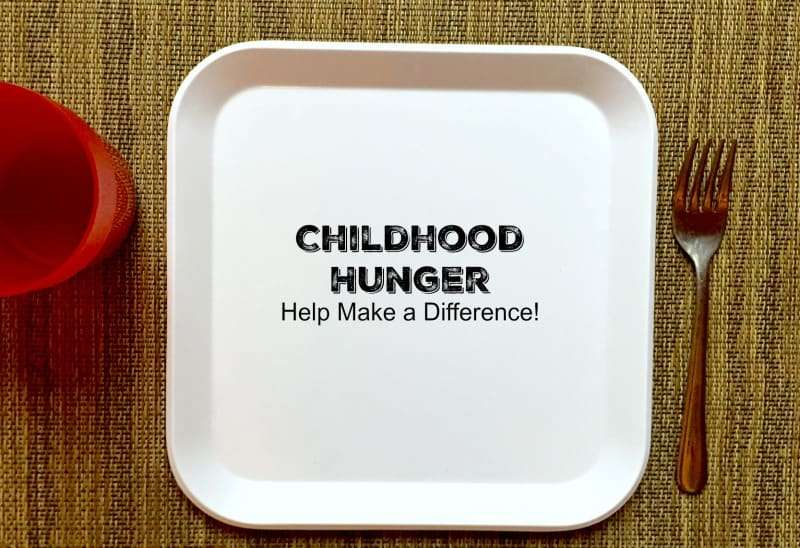 childhood hunger - help make a difference