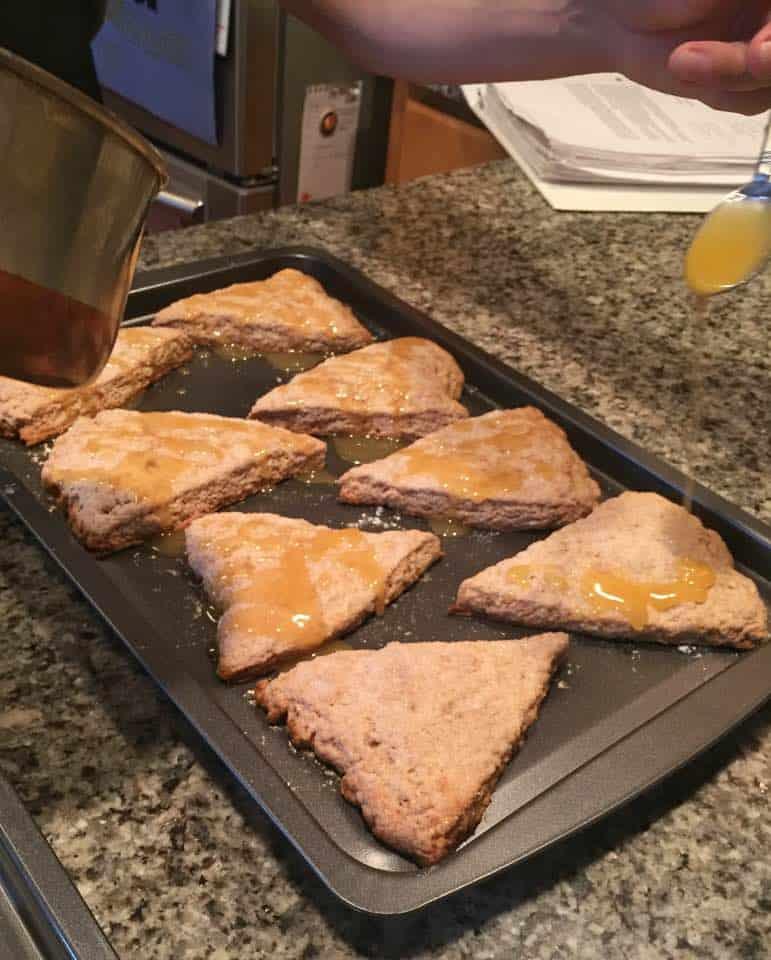 Saturday morning scone