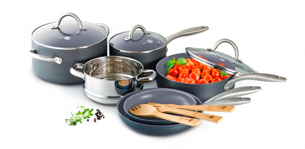 win a GreenPan cookware set