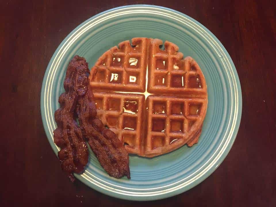 weekend waffles