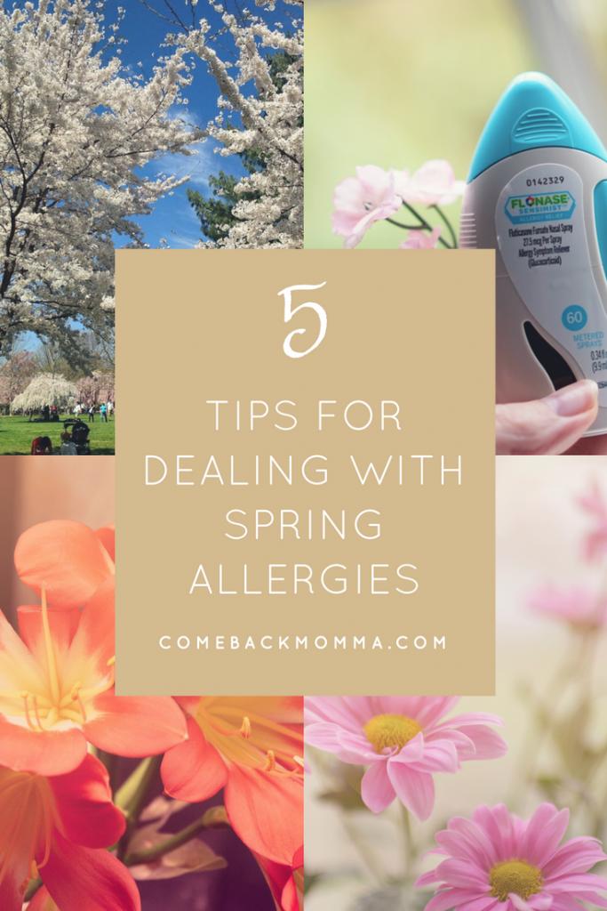 5 Survival Tips for Spring Allergy Season | Comeback Momma