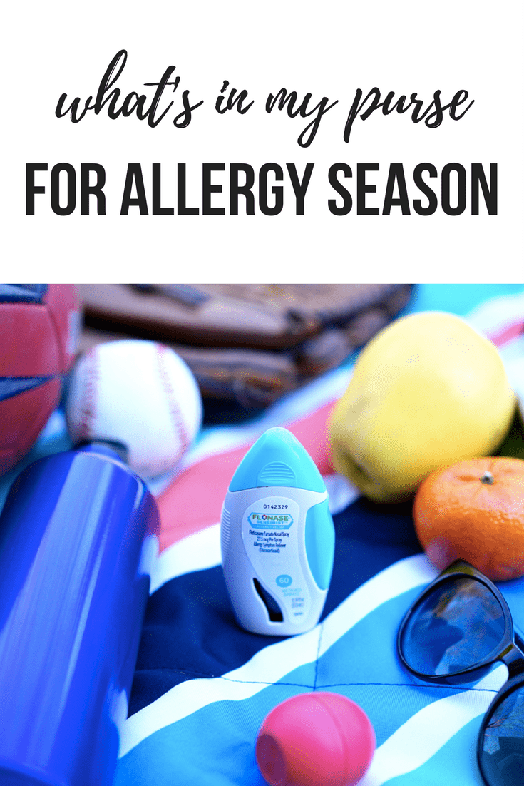 What's in My Purse for Allergy Season