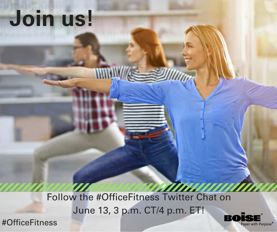 Office Fitness Twitter Chat