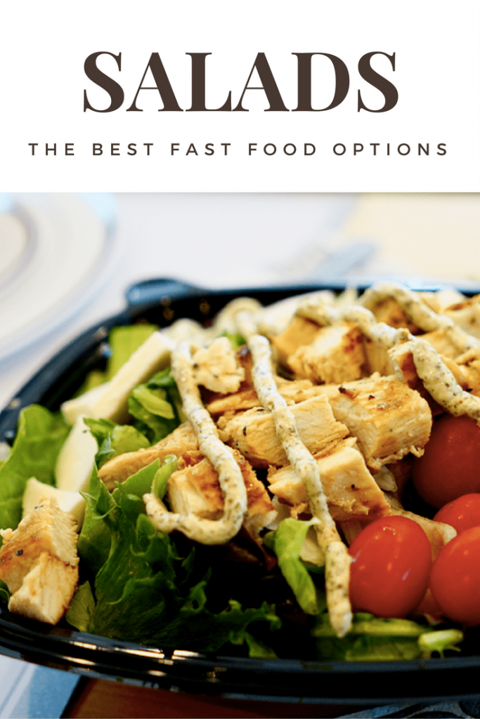 Where to find the best fast food salads